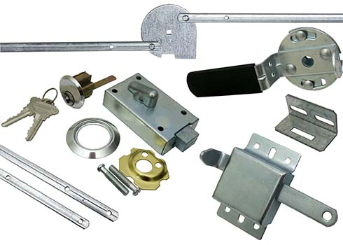 Garage Door Locks & Handles
